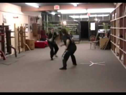 Pekiti Tirsia and Inosanto Kali at the Practical Self Defense Training Center, Waterbury CT