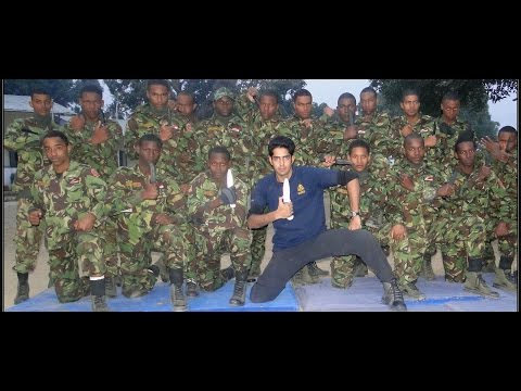 Edged Weapon Military Training by Sifu Arun Sharma