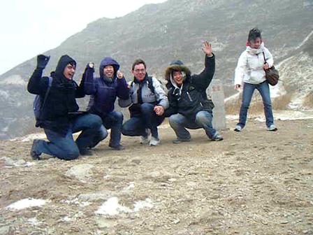 Wind on Hike near Beijing