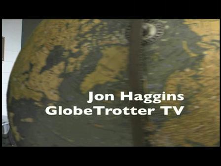 GlobeTrotter Jon Haggins TV in  Torino Part 2