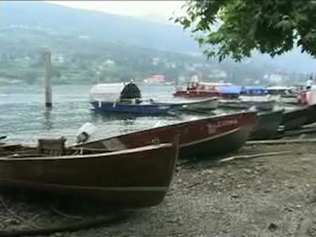 GlobeTrotter Jon Haggins TV in Stresa Italy