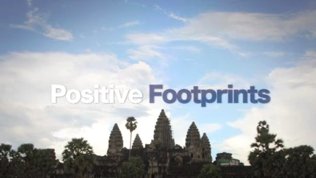 Positive Footprints - Cambodia