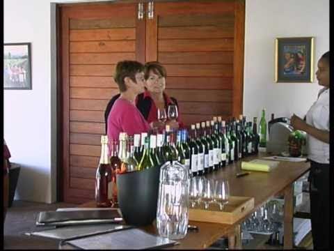 Wine in Mossel Bay, South Africa