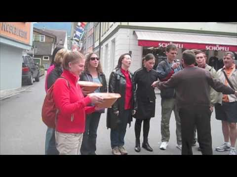 Yodeling in Appenzell Switzerland with IFWTWA