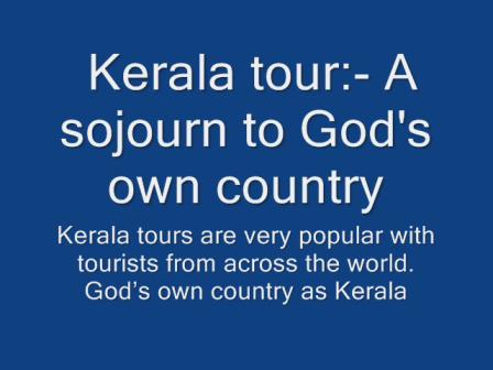 Kerala Tour India