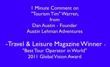"""Travel & Leisure Award Winners Marketing """"Secret Weapon"""""""