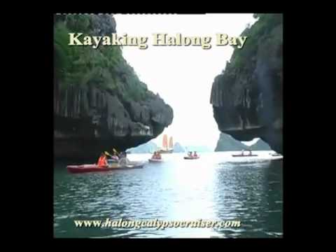 Kayaking halongbay calypso cruiser flv
