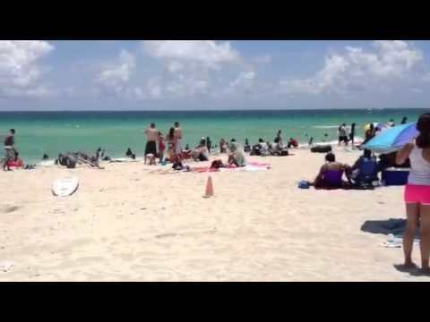 "Memorial Day 2012 at Miami's ""Locals"" Beach: Haulover"