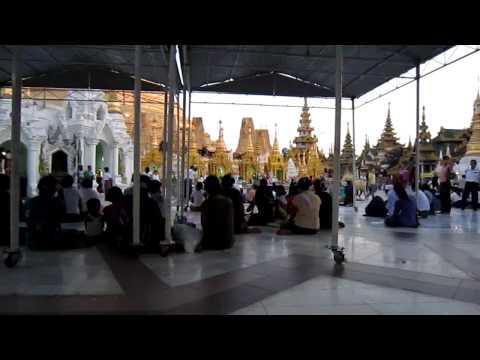 Du lịch Myanmar - Chùa Shwedagon