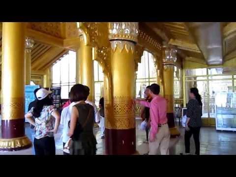 Cung điện hoàng gia Kanbawza thardi - Bago - Myanmar