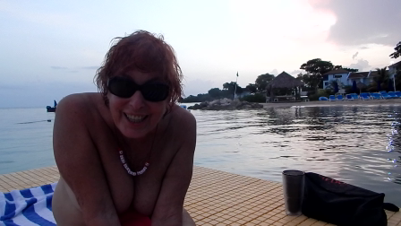 Hello from Hedonism Bay float & invite (26 sec)