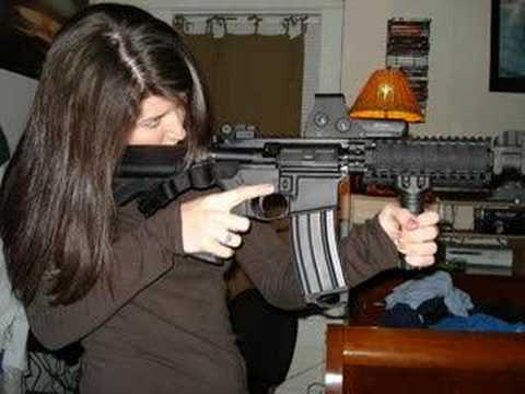 """Tribute to the Patriot Weapon of Choice AR15 ..""""Rather Die than be your Slave"""""""