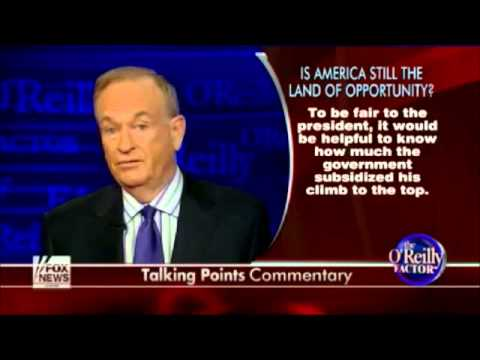 Bill O'Reilly: Obama's Hidden College Records - 3/18/2013