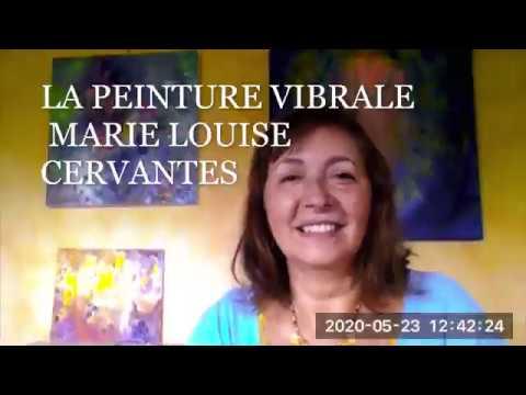 Découvrir la peinture vibrale et ses bienfaits avec Marie Louise Cervantes
