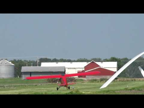 Porterfield Crosswind Takeoff