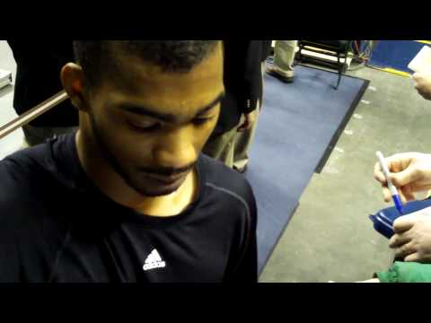 Corey Brewer Signing Autographs in Indianapolis