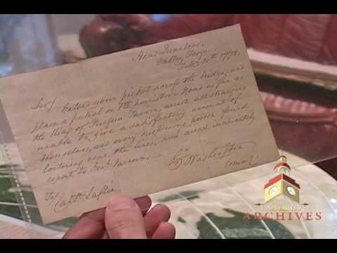 Authenticating George Washington Signatures