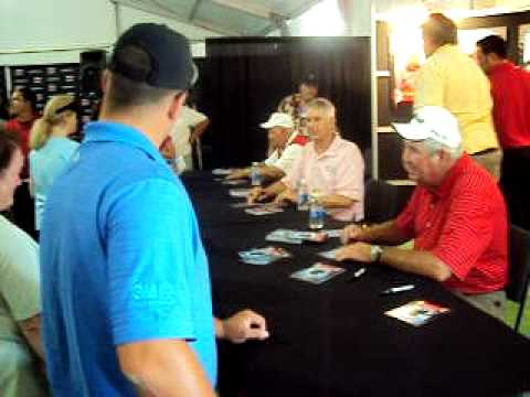 charles coody andy north and billy casper signing autographs