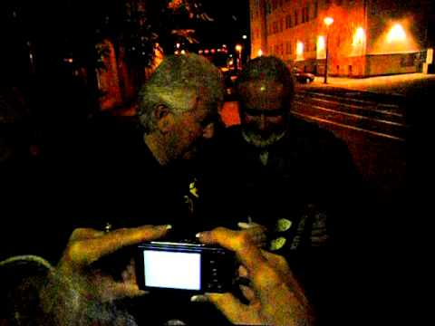 Graham Nash (Croby Stills & Nash) signing autographs at 20th october 2011 in Berlin
