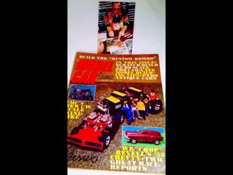My Autographed Vintage Car Magazines