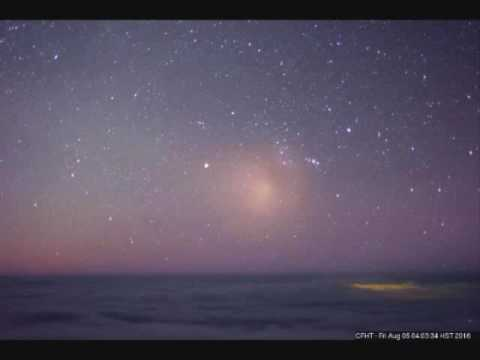 Light Anomalies Canada-France-Hawaii Telescope August 4th to 7th 2016