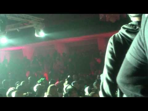 Khalil Amani on Stage @ Loaded Lux/Hollow da Don Rap Battle