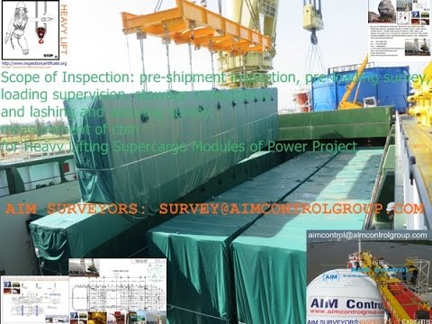 LOADING MASTER of The Agriculture Industry Marine Survey Inspection Group (P3)