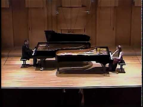 N. Kapustin - Manteca op.129 for 2 pianos performed by Yordanova & Kyurkchiev Piano Duo