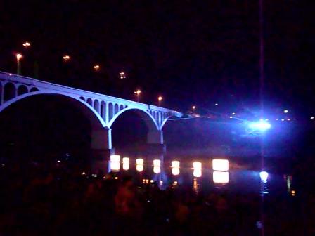 小倉橋灯篭流し2011