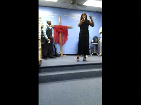 Holy Flava & Carla Martin Minster @ The 2011 Prayer Line Anniversary
