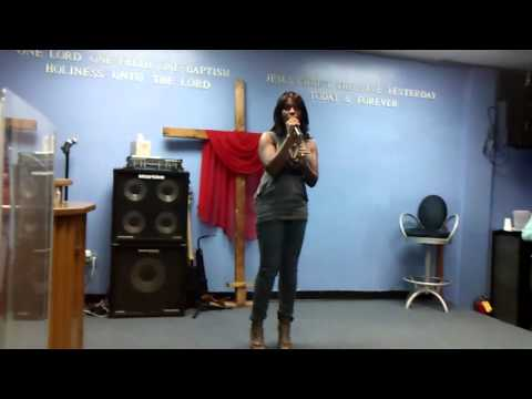 """Evangelist """"Carla Martin"""" Ministers @ Her Home Church In New York"""