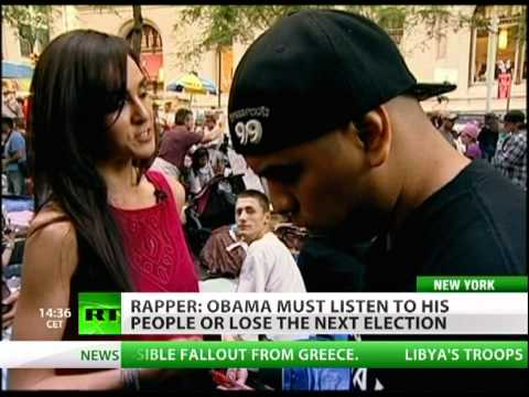 Rapper Immortal Technique Occupy Wall Street interview
