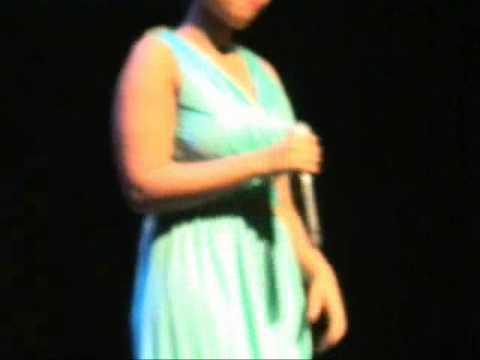14 Year Old Star AMYBLUE  Sings Celine Dion-Idol 2013