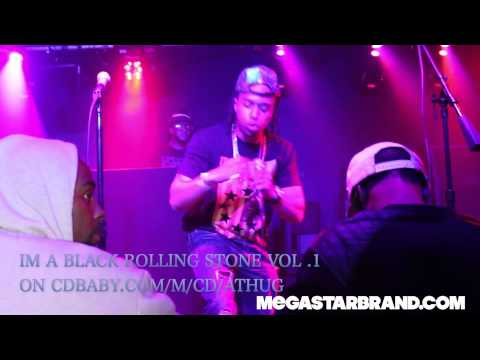 """A- THUG @ BLACK THRON (QUEENS) FT. STONE QUEEN LIVE""""im a Black Rolling Stone """""""