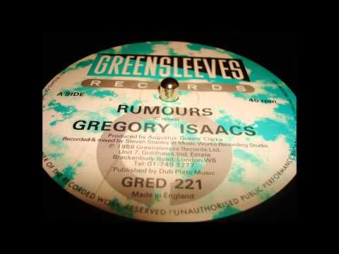 """Gregory Isaacs """"Rumours"""""""