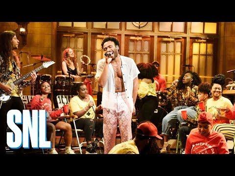 Childish Gambino: Saturday (Live) - SNL