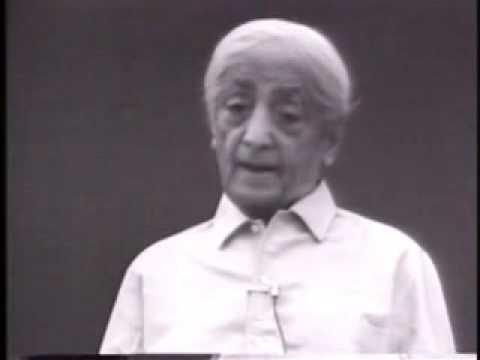 Krishnamurti- Who am I?