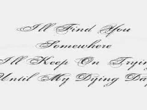 Within Temptation - Somewhere - Lyrics