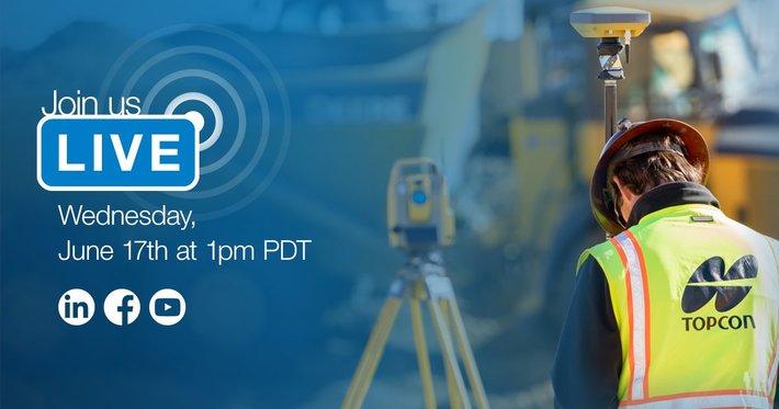 Topcon Live Stream regarding COVID-19