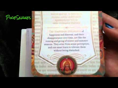 The Gita Deck & Learning to Live with Discomfort.