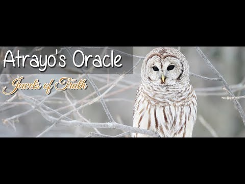 Atrayo's Oracle Vlog Part 1: On Peace and Faith as Channeled Angelic Wisdom