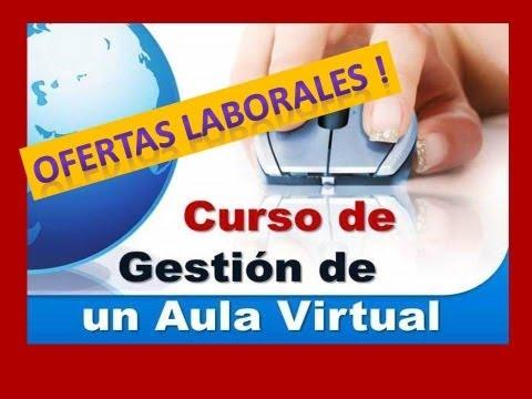 Curso virtual Cómo gestionar un aula virtual en MOODLE
