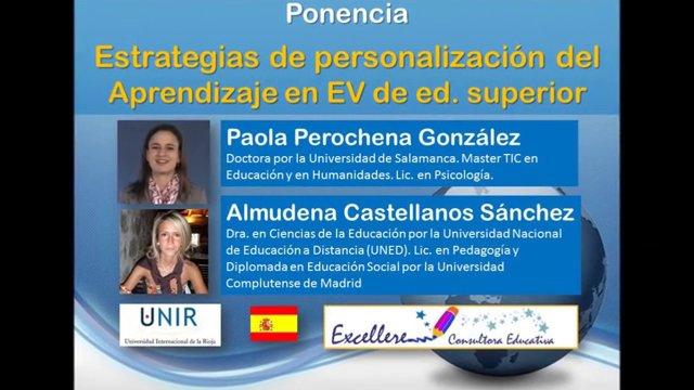 Ponencia de Paola Perochena González y Almudena Castellanos Sánchez