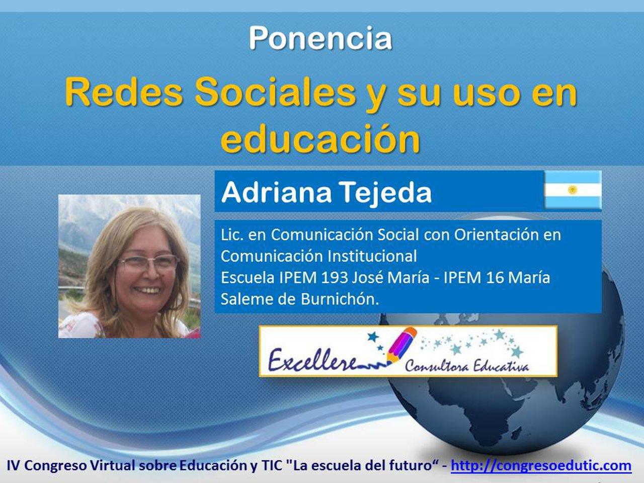 Ponencia de Adriana Tejeda