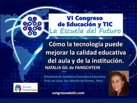 Ponencia de Natalia Gil: Cómo la tecnología puede mejorar la calidad educativa