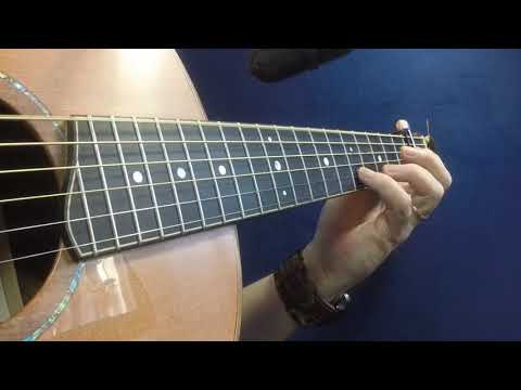 Hag at the Churn - Irish Guitar - DADGAD Fingerstyle DoubleJig