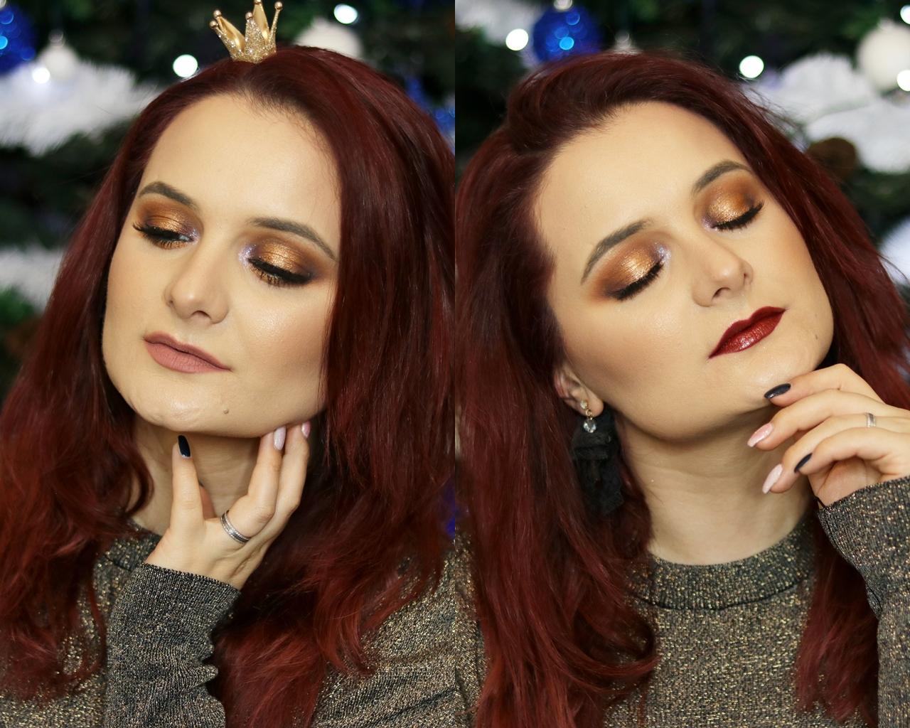 Anastasia Dumitrescu new year's eve makeup - bronzed babe – glam express