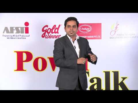 AFST PowerTalk Career Opportunities for a Food Industry by  Sanjeev Sharma