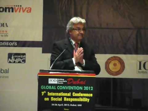 The Business Case for CSR - IOD Summit, Dubai
