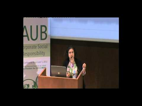 Wafa Tarnowska - Moving Beyond Business as Usual: Next Frontiers for CSR in the MENA